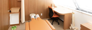 個室でマンツーマン施術